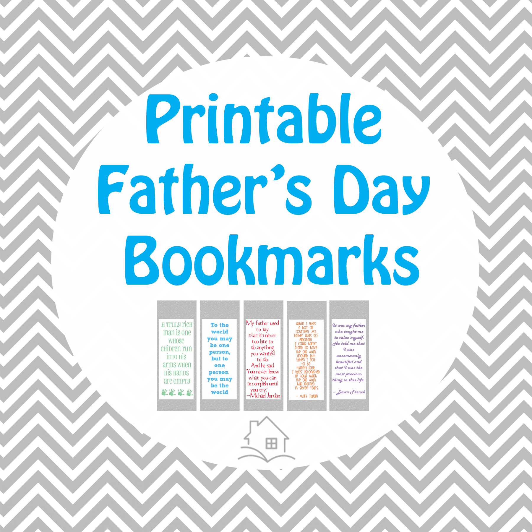 Fathers who love to read - plus free Father's Day