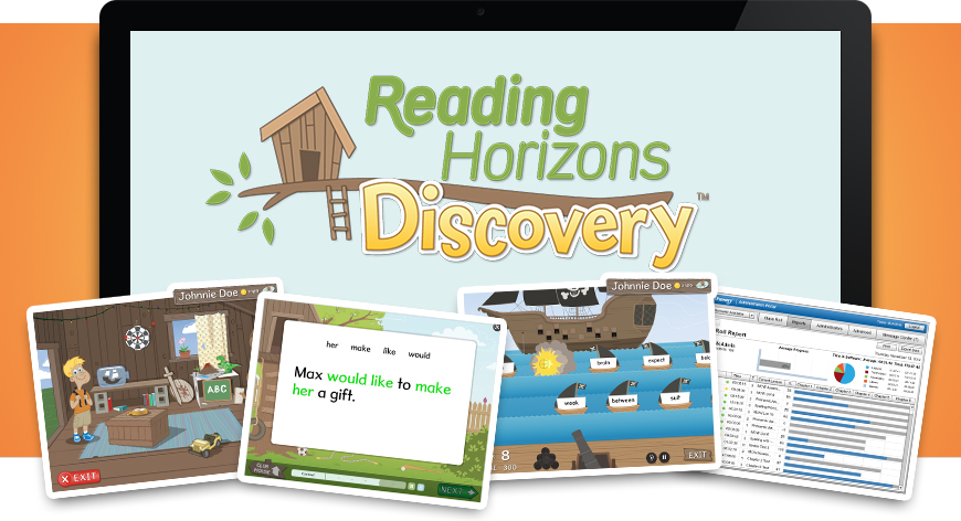 Reading Horizons Accelerate is an online tool providing resources and support for teachers.