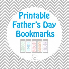 Fathers who love to read - plus free Father's Day printable