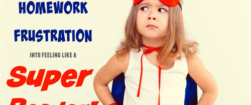 Change Homework Frustration into Super Reader!