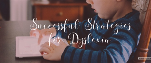 Successful Strategies for Dyslexia