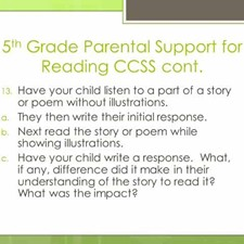 Parental Guide for Assisting their 4th – 6th Grade Child with the Common Core State Standards